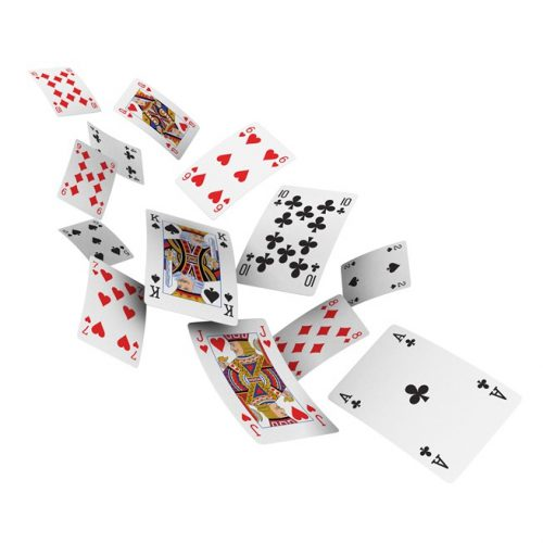 Spielkarten vom Zauberkünstler